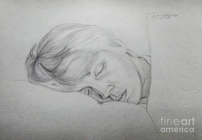 Sleeping Time Original by Algirdas Lukas