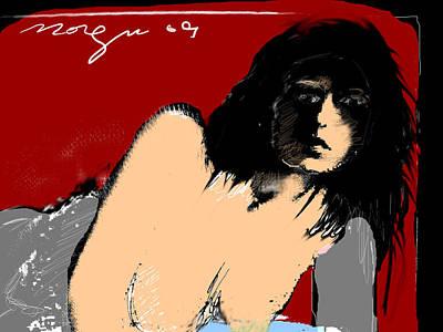 Sleepless 3 Art Print by Noredin Morgan
