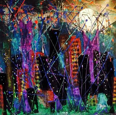 Sleepless In New York Original by Mireya Schoo