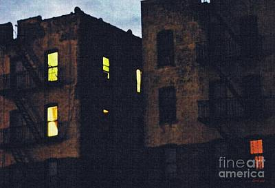 Sleepless In The Bronx Art Print by Sarah Loft