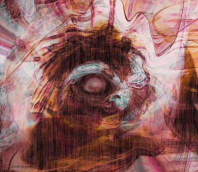 Sleepless Art Print by Linda Sannuti