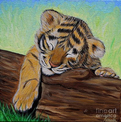 Sleepy Tiger Cub Original