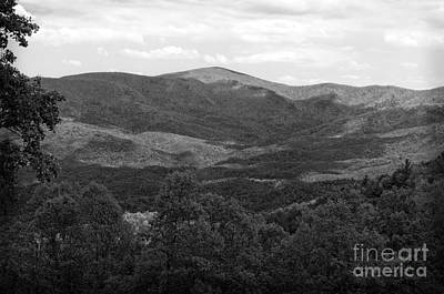 Photograph - Sleepy Georgia Mountains by Luther Fine Art