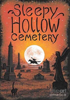 Sleepy Hollow Cemetery Art Print