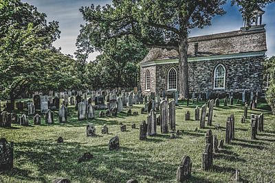R.i.p Photograph - Sleepy Hollow Cemetery - Old Dutch Church by Black Brook Photography
