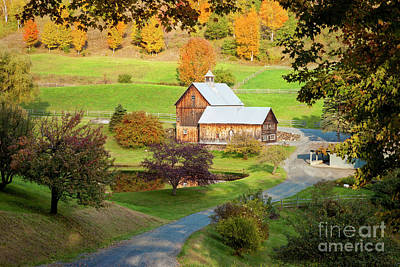 Photograph - Sleepy Hollow Farm Vermont by Brian Jannsen