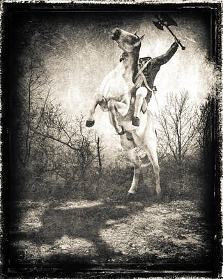Steampunk Royalty-Free and Rights-Managed Images - Sleepy Hollow Headless Horseman by Bob Orsillo