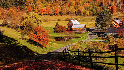 Sleepy Hollow - Pomfret Vermont-2 Art Print
