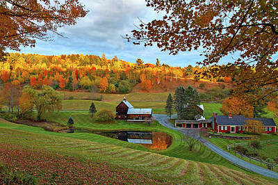 Photograph - Sleepy Hollow Farm by John Vose