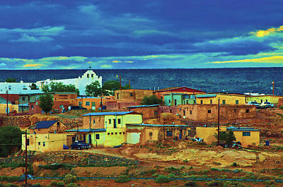 Photograph - Sleepy Mexican Village by Don Wolf