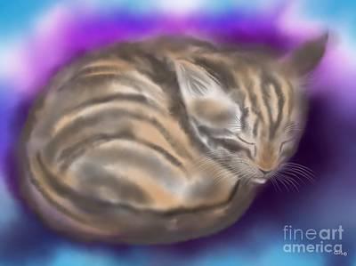 Art Print featuring the painting Sleepy Sam by Nick Gustafson