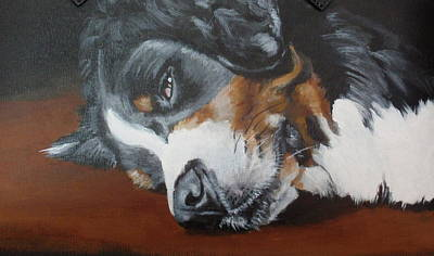 Painting - Sleepy Tess by Carol Russell