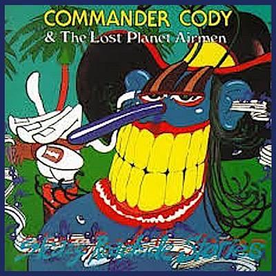 Digital Art - Sleezy Roadside Stories by Commander Cody