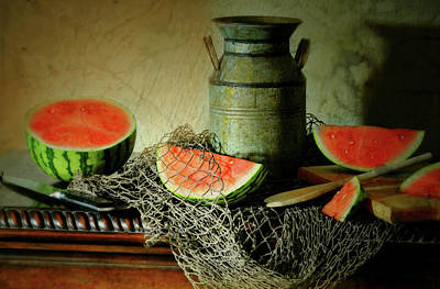 Still Life With Fish Photograph - Slice Of Life by Diana Angstadt