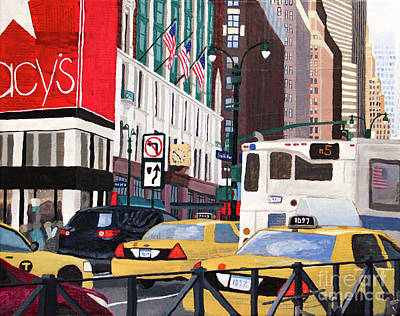 Painting - Slice Of New York by Marina McLain