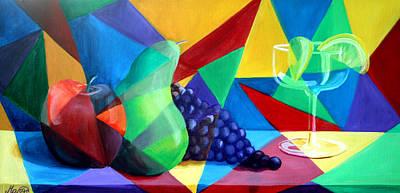 Sliced Fruit Art Print by Maryn Crawford