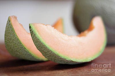 Photograph - Slices of juicy melon waiting to be eaten by Doug Moore