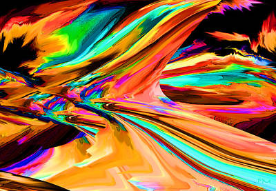 Digital Art - Slide by Phillip Mossbarger