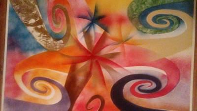 Slider Painting - Sliders 2 by Richard Perez