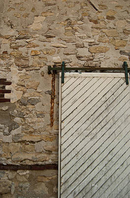 Photograph - Sliding Barn Door 2 by Jani Freimann