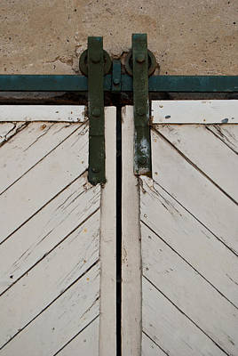Photograph - Sliding Barn Door 3 by Jani Freimann