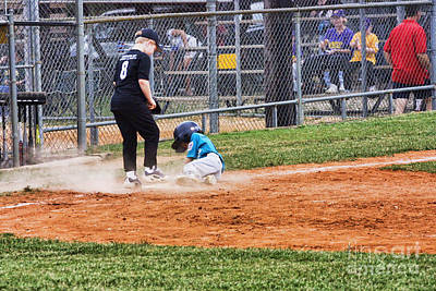 Sliding Into Home Base Original