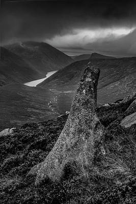 Photograph -  Slievenaglogh To Ben Crom. by Glen Sumner