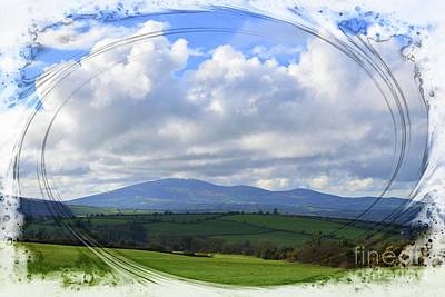 Slievenamon - The Mountain Of The Women Art Print