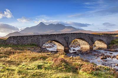 Photograph - Sligachan Bridge, Isle Of Skye by Colin and Linda McKie