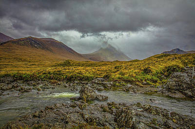 Photograph - Sligachan Bridge Landscape #h4 by Leif Sohlman