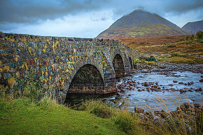 Photograph - Sligachan Bridge View #h4 by Leif Sohlman