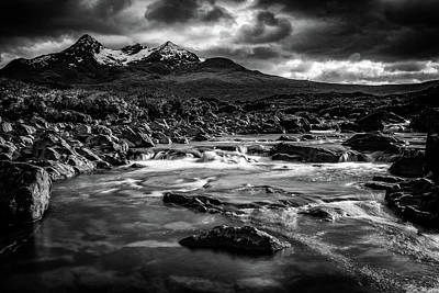Photograph - Sligachan River by John Frid