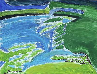 Painting - Sligo Bay Ireland by Don Koester
