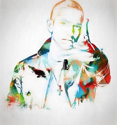 Slim Shady Painting - Slim Shady by Dan Sproul