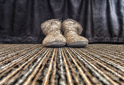 Photograph - Slippers by Jim Orr