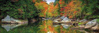 Photograph - Slippery Rock Creek  by Emmanuel Panagiotakis