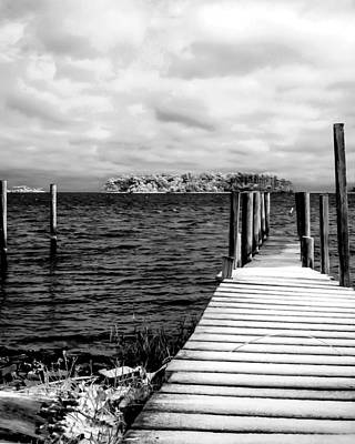 Photograph - Slippery Dock by Hayden Hammond