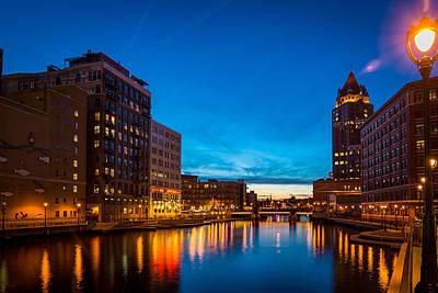 Riverwalk Photograph - Slipping Toward Twilight by Bill Pevlor