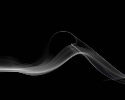 Smoke Art Photograph - Slither by Bryan Steffy