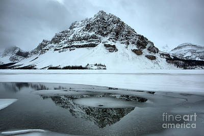 Photograph - Slivers Of Ice In The Reflections by Adam Jewell