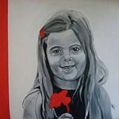 Painting - Sloan by Sarah LaRose Kane