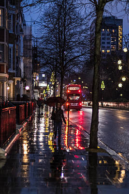 Photograph - Sloane Street by Matt Malloy