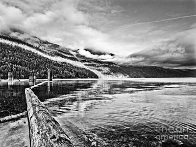 Slocan Lake Bc Art Print by Emilio Lovisa