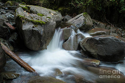 Photograph - Slollicum Creek by Rod Wiens