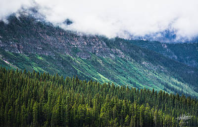 Photograph - Slopes Of Mt Pyramid by Adnan Bhatti