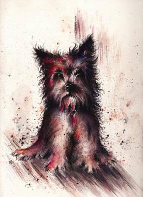 Hallucination Painting - Sloppy Jo by Rachel Christine Nowicki