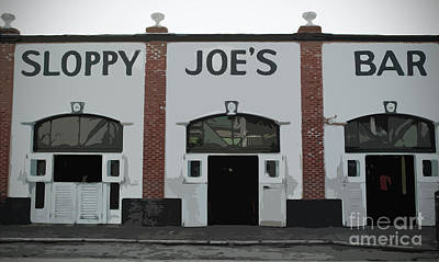 Photograph - Sloppy Joes Bar by Jost Houk