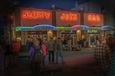 Photograph - Sloppy Joes Bar Key West Florida Dsc01709_16 by Greg Kluempers