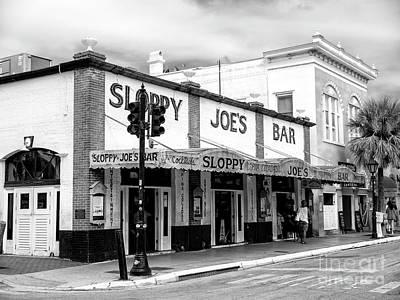 Photograph - Sloppy Joe's Key West by John Rizzuto