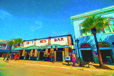 Photograph - Sloppy Joes Key West by Kevin Cable